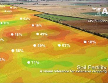Cartes nutritionnelles du sol et de l'activité photosynthétique