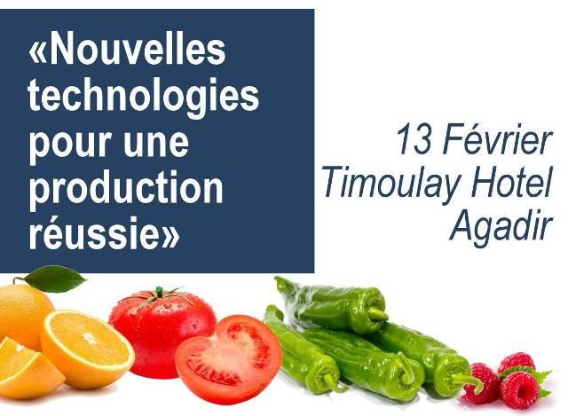 Journée Technologies pour une Production réussie
